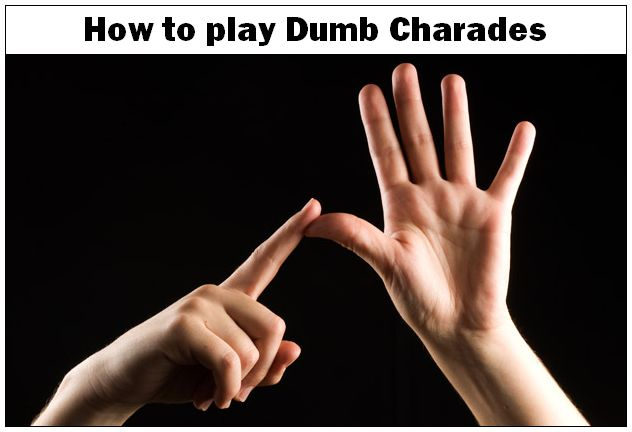 how to play dumb charades