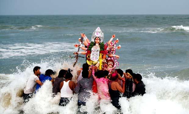 Immersion-Goddess-Durga