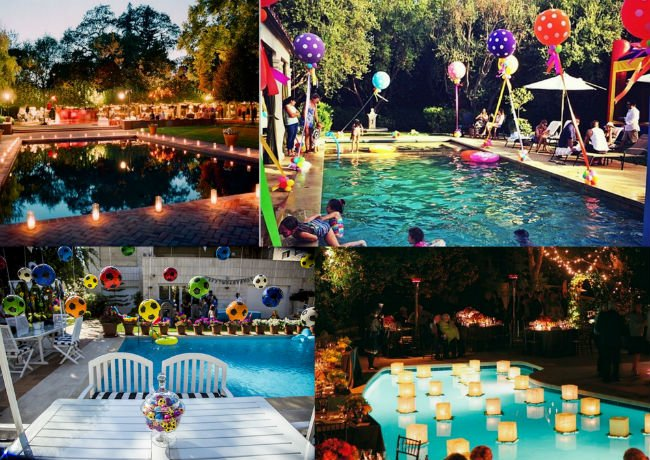 96 summer night party ideas the 13 best summer party for Pool design reunion