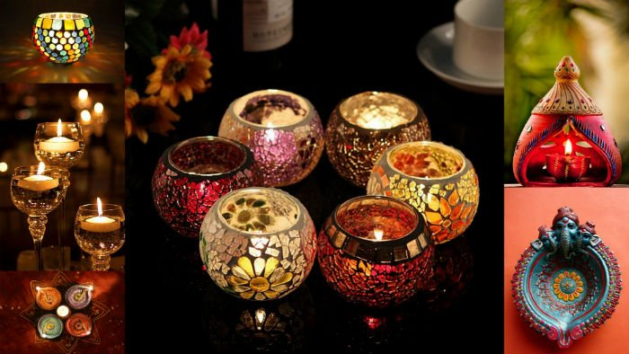 diwalidiya and candle