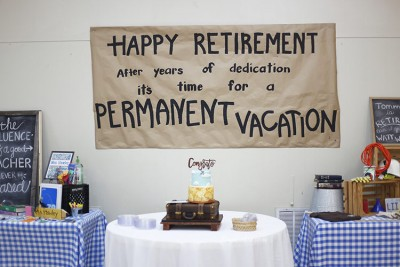 parents retirement party