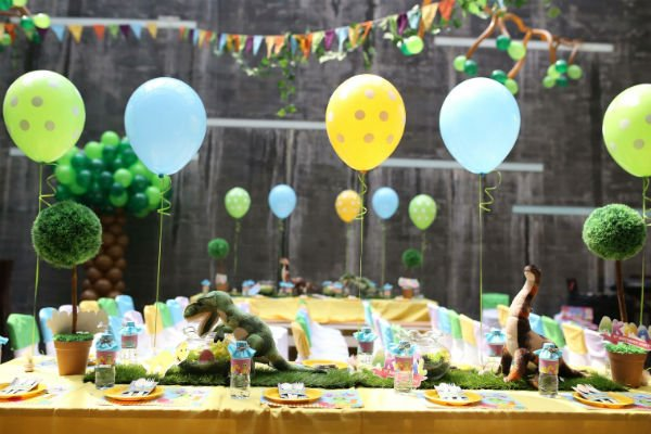 jurassic world theme birthday party