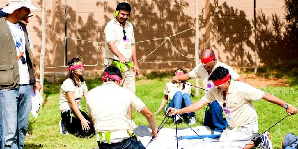 A TEAM BUILDING ACTIVITY