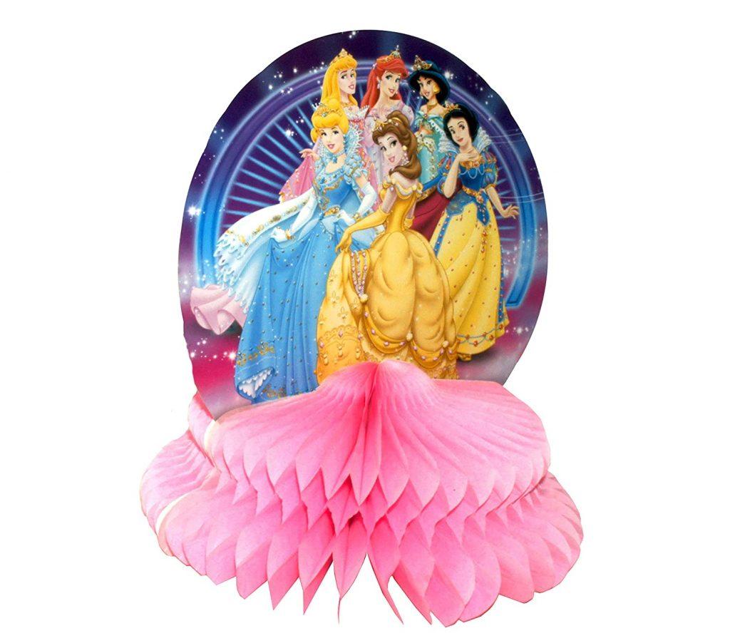 Princess Honeycomb Centerpiece Party Table Decoration