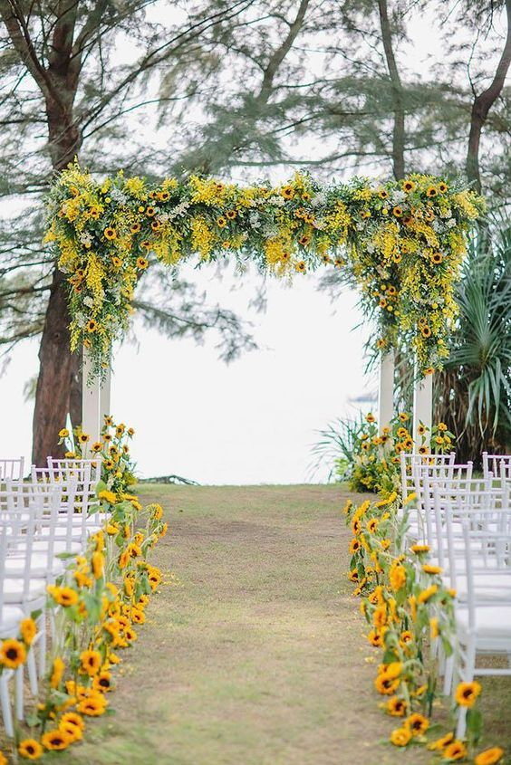 sunflower-wedding-theme-decor